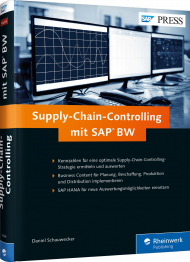 Supply-Chain-Controlling mit SAP BW, ISBN: 978-3-8362-3746-8, Best.Nr. RW-3746, erschienen 10/2016, € 79,90