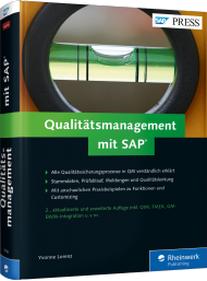 Qualitätsmanagement mit SAP, Best.Nr. RW-3786, € 69,90