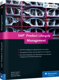 SAP Product Lifecycle Management, ISBN: 978-3-8362-3949-3, Best.Nr. RW-3949, erschienen 09/2016, € 79,90
