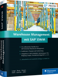 Warehouse Management mit SAP EWM, ISBN: 978-3-8362-3968-4, Best.Nr. RW-3968, erschienen 11/2016, € 89,90
