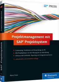 Projektmanagement mit SAP Projektsystem, ISBN: 978-3-8362-4429-9, Best.Nr. RW-4429, erschienen 03/2017, € 79,90