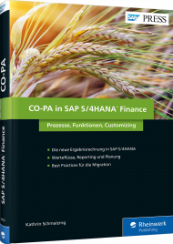 CO-PA in SAP S/4HANA Finance, ISBN: 978-3-8362-4483-1, Best.Nr. RW-4483, erschienen 05/2017, € 79,90