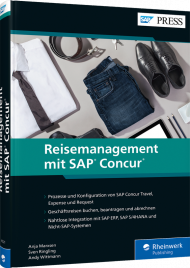 Reisemanagement mit SAP Concur, ISBN: 978-3-8362-4521-0, Best.Nr. RW-4521, erschienen 05/2019, € 79,90