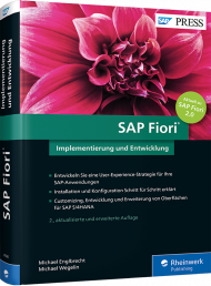 SAP Fiori, ISBN: 978-3-8362-4586-9, Best.Nr. RW-4586, erschienen 08/2017, € 69,90