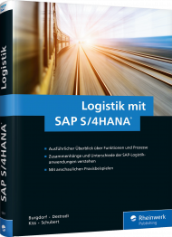 Logistik mit SAP S/4HANA, ISBN: 978-3-8362-5611-7, Best.Nr. RW-5611, erschienen 10/2017, € 69,90