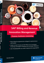 SAP Billing and Revenue Innovation Management, ISBN: 978-3-8362-5906-4, Best.Nr. RW-5906, erschienen 10/2018, € 79,90
