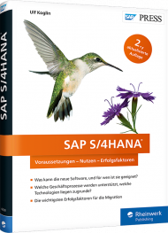 SAP S/4HANA, ISBN: 978-3-8362-6038-1, Best.Nr. RW-6038, erschienen 05/2018, € 59,90