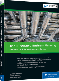 SAP Integrated Business Planning, ISBN: 978-3-8362-6324-5, Best.Nr. RW-6324, erschienen 05/2020, € 79,90