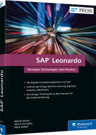 SAP Leonardo, ISBN: 978-3-8362-6414-3, Best.Nr. RW-6414, erschienen 10/2018, € 69,90