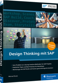 Design Thinking mit SAP, ISBN: 978-3-8362-6703-8, Best.Nr. RW-6703, erschienen 05/2019, € 79,90