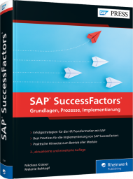 SAP SuccessFactors, ISBN: 978-3-8362-7241-4, Best.Nr. RW-7241, erschienen 12/2019, € 79,90