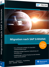 Migration nach SAP S/4HANA, ISBN: 978-3-8362-7455-5, Best.Nr. RW-7455, erschienen 11/2020, € 79,90