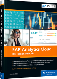 SAP Analytics Cloud, ISBN: 978-3-8362-7715-0, Best.Nr. RW-7715, erschienen 01/2021, € 79,90