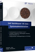 SAP NetWeaver AS Java - Systemadministration, ISBN: 978-3-8362-1293-9, Best.Nr. GP-1293, erschienen 08/2009, € 69,90