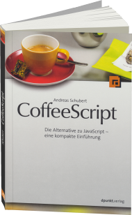 CoffeeScript, ISBN: 978-3-86490-050-1, Best.Nr. DP-050, erschienen 11/2014, € 22,90