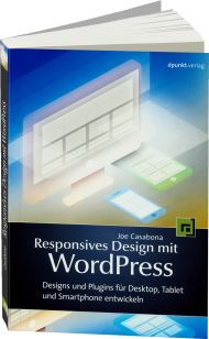 Responsives Design mit WordPress, Best.Nr. DP-1775, € 14,95