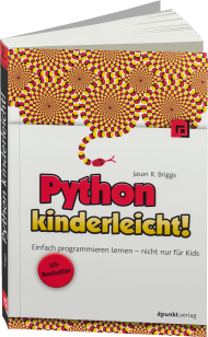 Python kinderleicht!, ISBN: 978-3-86490-344-1, Best.Nr. DP-344, erschienen 03/2016, € 26,90