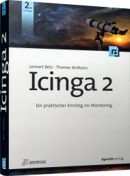 Icinga 2, ISBN: 978-3-86490-556-8, Best.Nr. DP-556, erschienen 07/2018, € 44,90