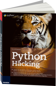 Python Hacking, ISBN: 978-3-645-60415-4, Best.Nr. FR-60415, erschienen 09/2015, € 30,00