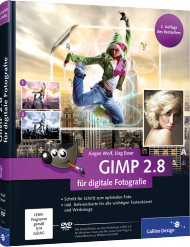 GIMP 2.8 für digitale Fotografie, Best.Nr. GP-1609, € 29,90