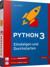 Python 3, ISBN: 978-3-446-45469-9, Best.Nr. HA-45469, erschienen 10/2018, € 32,00