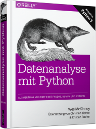 Datenanalyse mit Python, ISBN: 978-3-96009-000-7, Best.Nr. OR-000, erschienen 11/2015, € 39,90