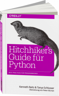 Hitchhiker`s Guide für Python, ISBN: 978-3-96009-045-8, Best.Nr. OR-045, erschienen 07/2017, € 29,90