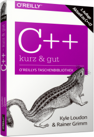 C++ - kurz & gut, ISBN: 978-3-96009-078-6, Best.Nr. OR-078, erschienen 04/2018, € 14,90