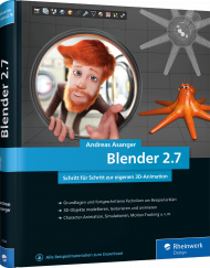Blender 2.7, ISBN: 978-3-8362-4508-1, Best.Nr. RW-4508, erschienen 01/2018, € 39,90