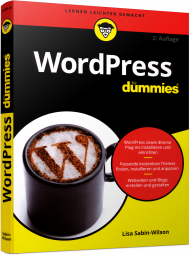 WordPress für Dummies, ISBN: 978-3-527-71321-9, Best.Nr. WL-71321, erschienen 11/2016, € 19,99