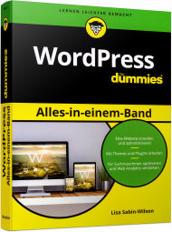 WordPress für Dummies - Alles-in-einem-Band, ISBN: 978-3-527-71440-7, Best.Nr. WL-71440, erschienen 11/2017, € 32,99
