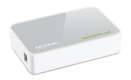 TP-LINK 5-Port Fast-Ethernet Desktop Switch (TL-SF1005D), Best.Nr. TP-5022, € 9,90