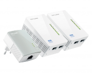 TP-LINK AV500 WLAN Powerline-Extender 3er KIT (TL-WPA4220T KIT), Best.Nr. TP-5025, € 89,95