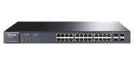 TP-LINK JetStream 24-Port Gigabit Smart-PoE-Switch (TL-SG2424P), Best.Nr. TP-5117, € 299,00