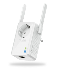 TP-LINK Universeller 300Mbps WLAN-N-Repeater (TL-WA860RE), Best.Nr. TP-5136, erschienen 07/2014, € 27,95