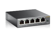 TP-LINK 5-Port Gigabit Easy Smart Switch (TL-SG105E), Best.Nr. TP-5141, erschienen 09/2014, € 32,95
