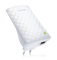 TP-LINK Univ. AC750 Dualband WLAN-Repeater mit LAN-Port (RE200), Best.Nr. TP-5144, erschienen 10/2014, € 31,80
