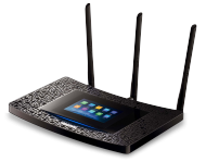 TP-LINK AC1900 Dualband WLAN-Router mit Touchscreen (Touch P5), Best.Nr. TP-5181, € 99,95