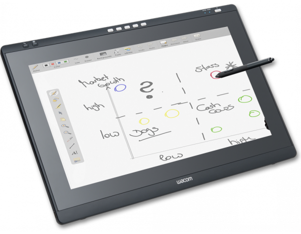 Wacom interaktives PEN DISPLAY (DTK-2241) - Interaktives 21,5 Zoll Stift-Full-HD-Display /  ,